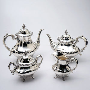 Hampton Court 4 Pc Sterling Tea Set