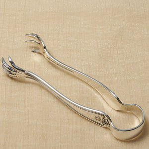 Reed & Barton Silver Plate Sugar Tongs