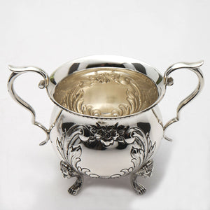 Ambassador Sterling Sugar Bowl