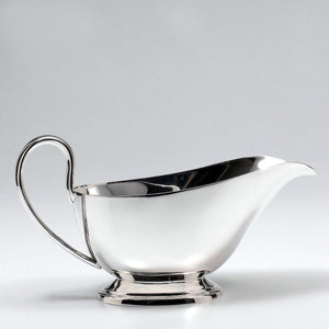 Silver-plated Gravy Sauce Boat