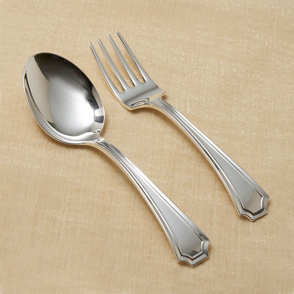 Gorham Fairfax Sterling Baby Spoon and Fork Set