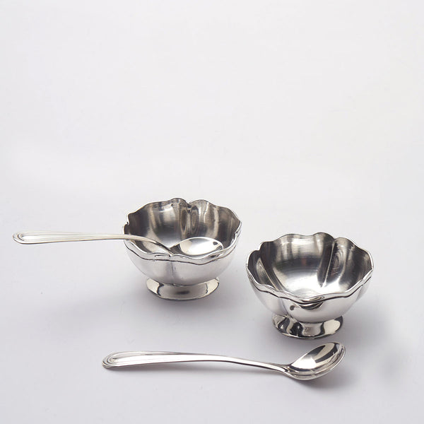 Maciel Sterling Salt Cellars