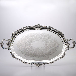 Gorham Silver Plated Oval Tray