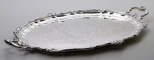 Large Gorham Silver Plated Oval Tray