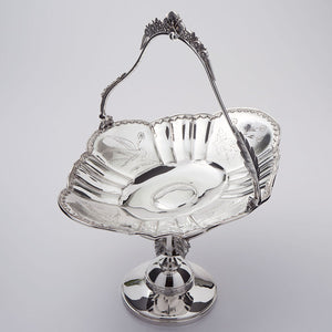 Pelton Bros & Co. Silver Plated Fruit Stand Alternate View 2