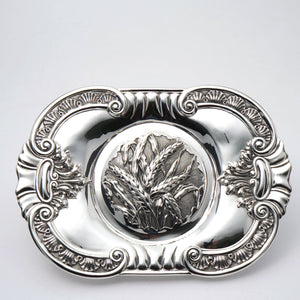 James W. Tufts Silver Plated Bread Tray