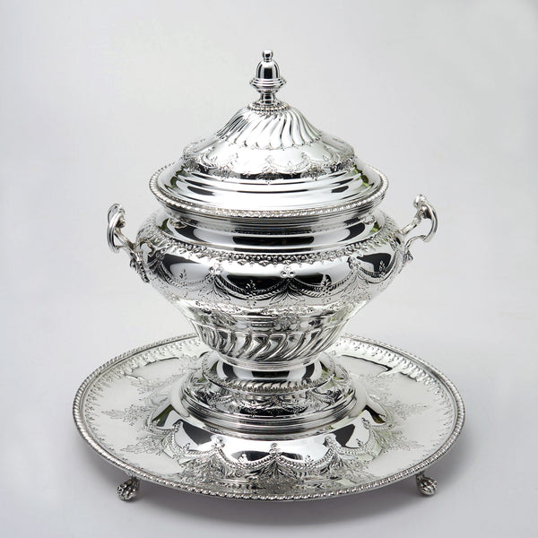 Topazio Soup Tureen With Tray