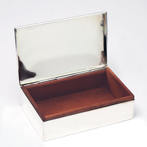 Sterling Jewelry Box
