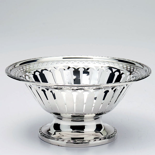 Pierced Sterling Candy Dish