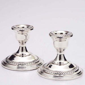 Empire Sterling Candlesticks