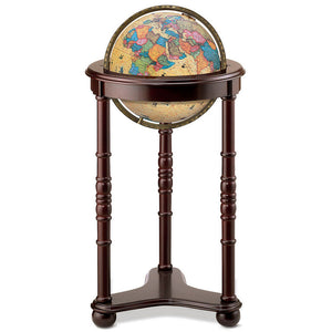 Lancaster Illuminated Floor Standing World Globe