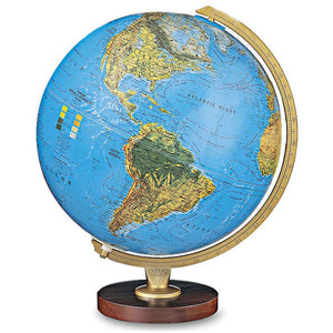 Illuminated World Desk Globe