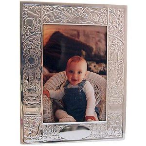 Sterling Birth Record Picture Frame