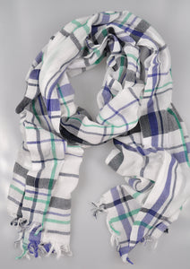 RODA Extralarge Cotton Scarf ~ Made in Italy