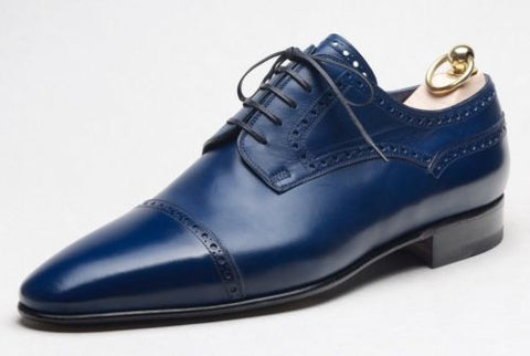 Stefano Bemer Goodyear Welted Shoes 11 (EU 44) Hand-made in Italy