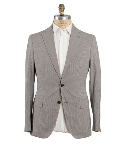 Belvest Seersucker Suit 40 (EU 50) Tailored in Italy