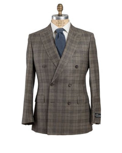 Belvest Super 130's Wool & Cashmere Suit 40 (EU 50) Tailored in Italy