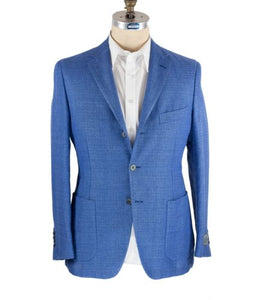 Belvest Superfine Linen & Wool Sportcoat 40 (EU 50) Tailored in Italy