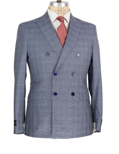 Belvest Super 180's Wool Suit 42 (EU 52) Tailored in Italy