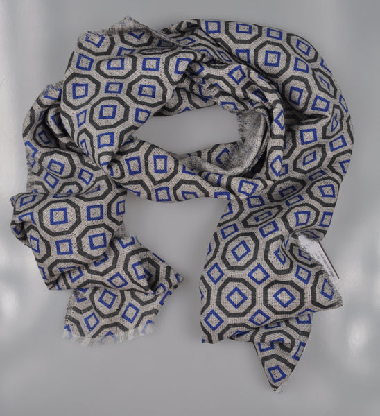 RODA Superfine Linen & Silk Scarf ~ Made in Italy