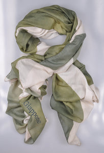 RODA Superfine Cotton~Silk Scarf ~ Made in Italy