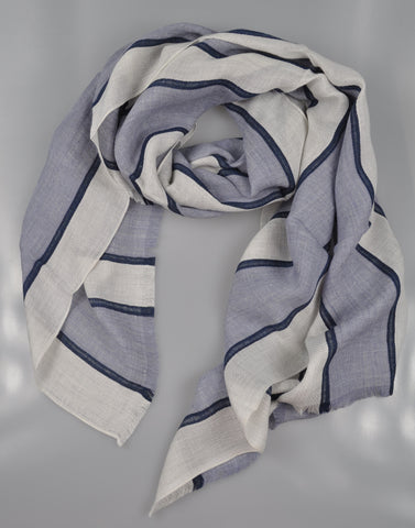 RODA Superfine Linen Blend Scarf ~ Made in Italy