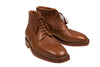 Silvano Lattanzi Leather Boot Shoes 8.5 (EUR 7.5) Hand-made in Italy