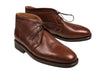 Silvano Lattanzi Leather Boot Shoes 9 (EUR 8) Hand-made in Italy