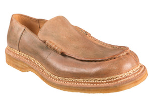 Silvano Lattanzi Norwegian Loafer Shoes 9.5 (EUR 8.5) Hand-made in Italy
