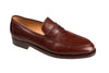 Silvano Lattanzi Leather Loafer Shoes 8 (EUR 7) Hand-made in Italy
