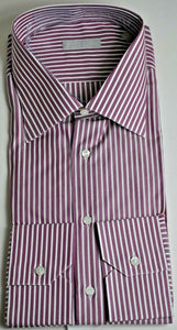 STEFANO RICCI Superfine Riva Cotton Dress Shirt 18.5 (47) Handmade in Italy