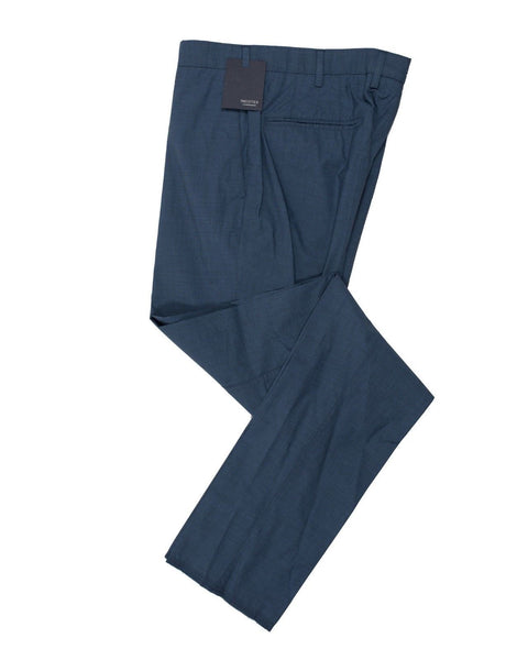 INCOTEX Extra-light Cotton Blue Pants  ~ European Fit