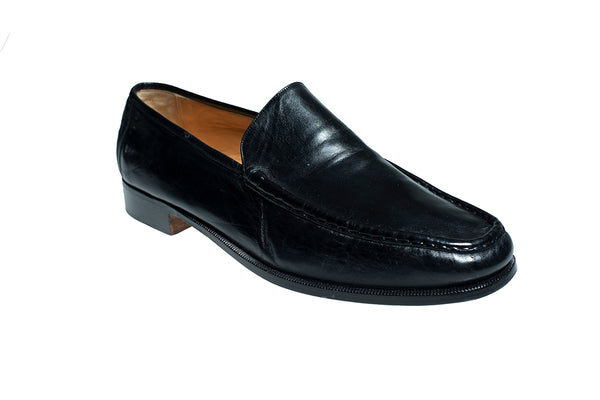 Silvano Lattanzi Leather Loafer Shoes 12 (EUR 11) Hand-made in Italy