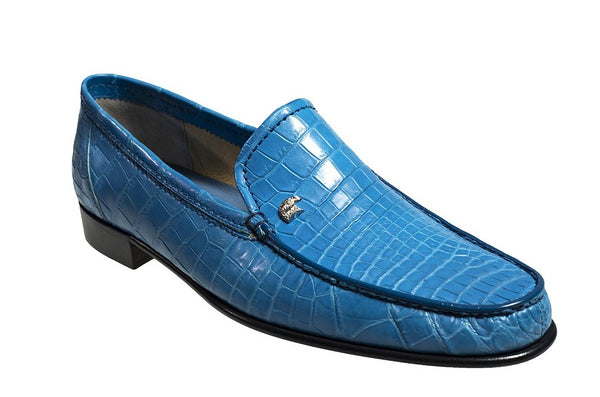 Stefano Ricci Genuine Crocodile Loafer Shoes 11.5 (EU 10.5) Hand-made in Italy