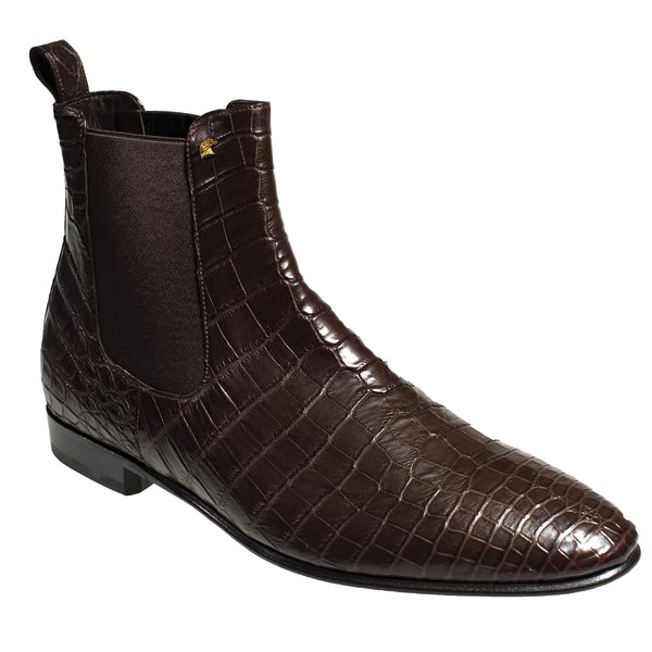 Stefano Ricci Genuine Crocodile Boot Shoes 11 (EU 10) Hand-made in Italy