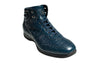 Stefano Ricci Genuine Crocodile High Top Sneakers Shoes 10.5 (EU 10) Hand-made in Italy