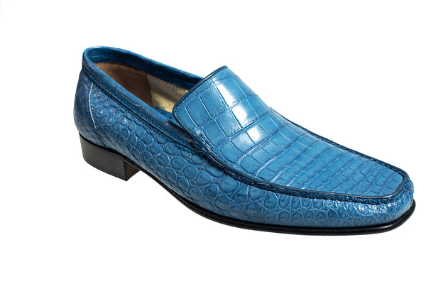 Stefano Ricci Genuine Crocodile Loafer Shoes 10 (EU 9) Hand-made in Italy