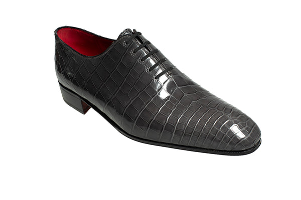 Stefano Ricci Genuine Crocodile Wholecut Oxford Shoes 11.5 (EU 10.5) Hand-made in Italy