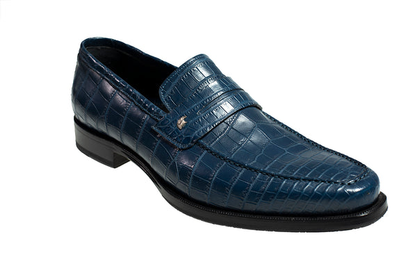 Stefano Ricci Genuine Crocodile Loafer Shoes 10.5 (EU 9.5) Hand-made in Italy