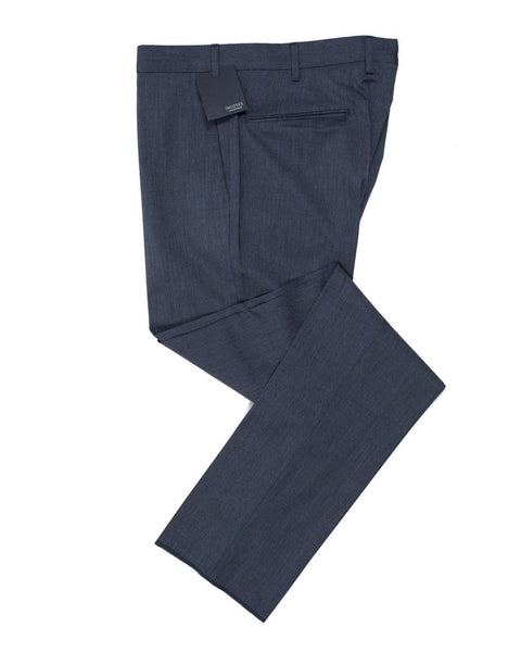 INCOTEX Superfine Wool Cobalt Blue Dress Pants ~ European Fit