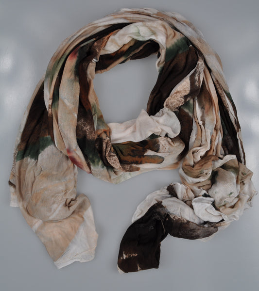 RODA Hand-painted Modal Scarf ~ Made in Italy