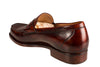 Silvano Lattanzi Leather Loafer Shoes 8 (EUR 7.5) Hand-made in Italy