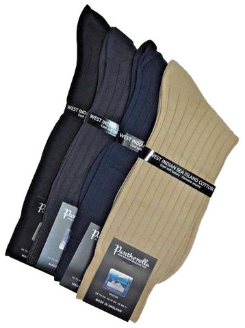 Pantherella Certified Sea Island Cotton Socks