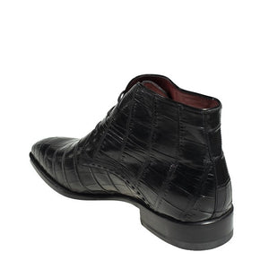 Stefano Ricci Genuine Crocodile Boot Shoes 9 (EU 8) Hand-made in Italy