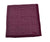 RODA Purple Printed Linen Pocket Square Pochette ~ Made in Italy