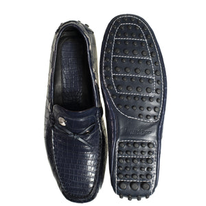 Stefano Ricci Genuine Crocodile Driver Shoes 10.5 (EU 9.5) Hand-made in Italy