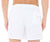 RODA at the beach white swim shorts