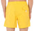 RODA at the beach yellow swim shorts L