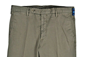 Rota Sport Green Cotton Pants ~ Handmade in Italy