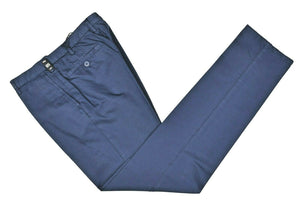 Rota Sport Blue Cotton & Linen Pants ~ Handmade in Italy